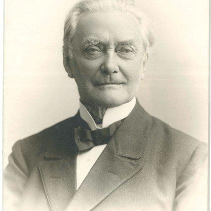 Dobeles Ev. lut. draudzes mācītājs Augusts Bīlenšteins. 19. gadsimta beigas.