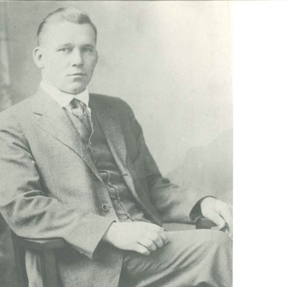 1905. gada revolūcijas dalībnieks Dāvids Beika.