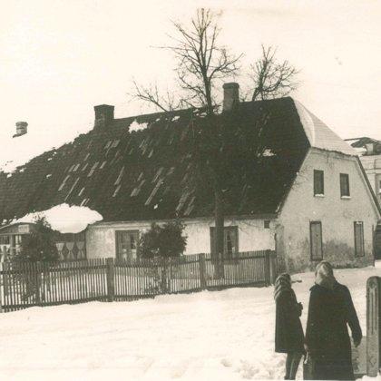 Senā bērnudārza ēka Brīvības ielā.